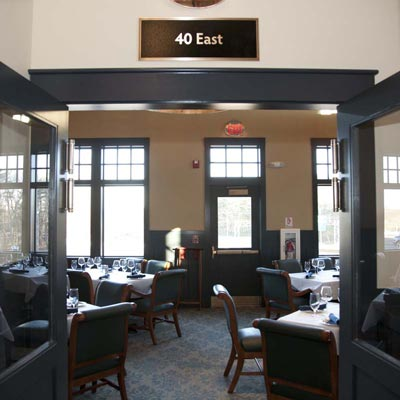 40 East - Private Dining Rooms at Copper Door