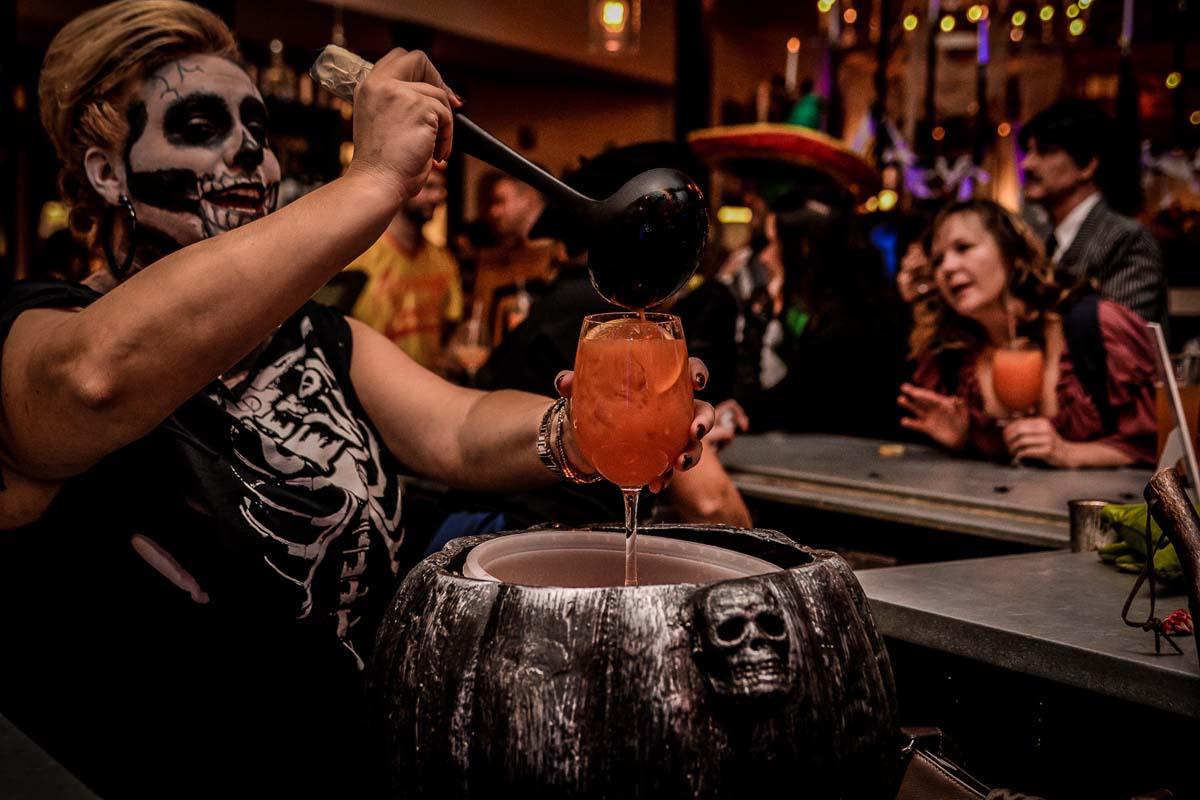 Copper Door Restaurant Scary Scary Night