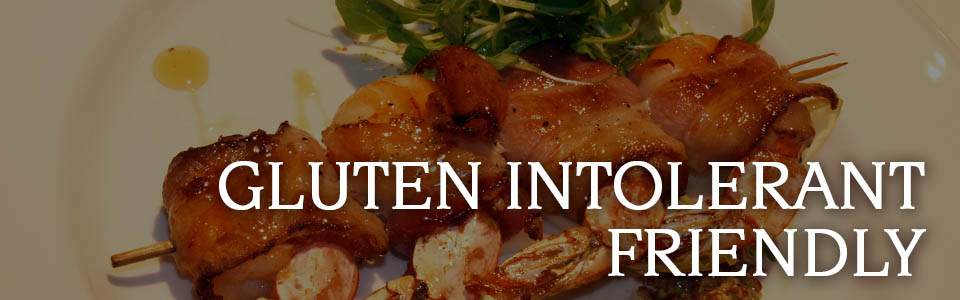 Gluten Intolerant Friendly Menu - Copper Door Restaurant