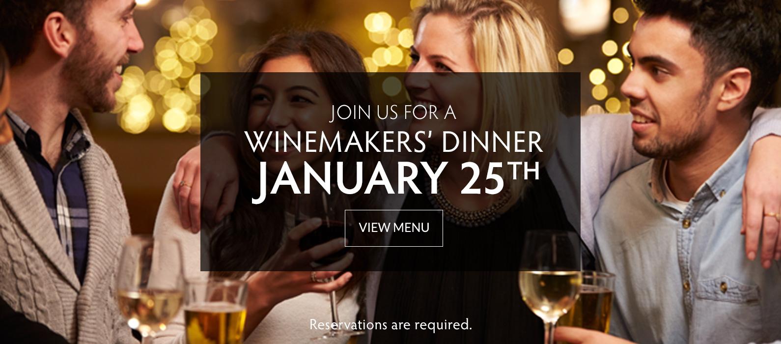 Winemakers' Dinner - January 25 at Copper Door Restaurant