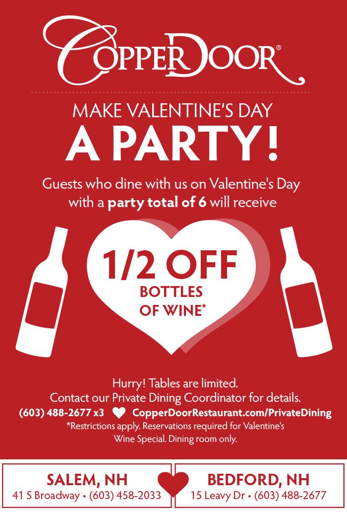 valentines wine promo