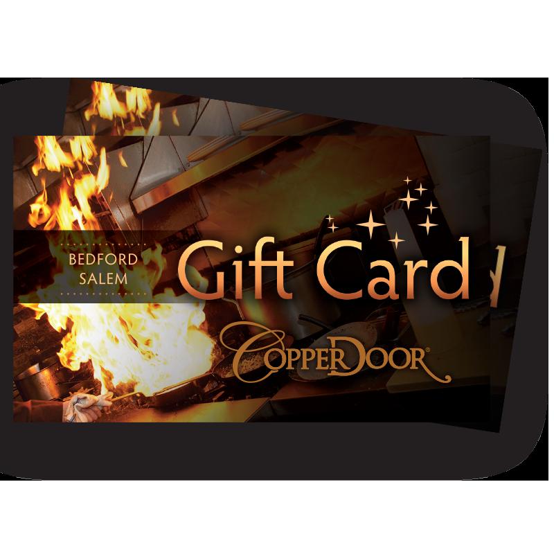 Copper Door Gift Cards Copper Door Restaurant